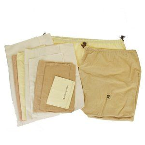 LOUIS VUITTON 10 Set Dust Bag Drawstring 100% Cott